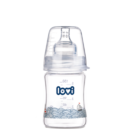 LOVI Diamond Glass Bottle 150 ml Marine