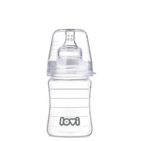 LOVI Diamond Glass Bottle 150 ml Pure