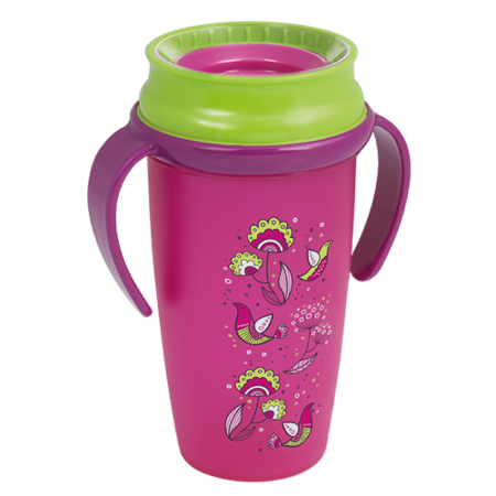 LOVI 360° Cup Active 350 ml Folky Girl
