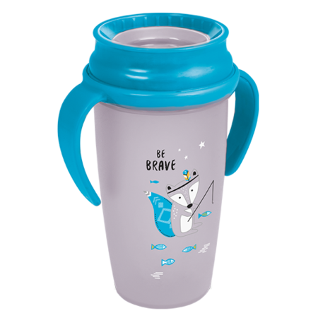 LOVI 360° Cup Active 350 ml Indian Summer Boy