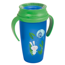 LOVI 360° Cup Active 350 ml Follow the Rabbit Boy