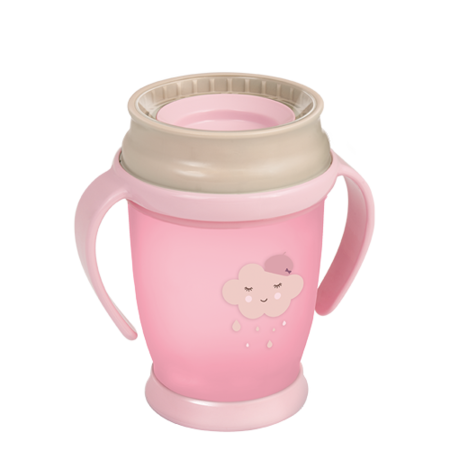 LOVI 360° Cup Junior 250 ml Retro Baby Girl