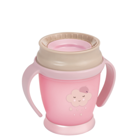 LOVI 360° Cup Mini 210 ml Retro Baby Girl