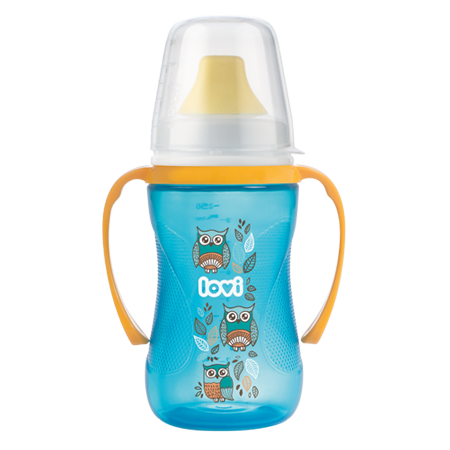 LOVI Non-spill Cup 250 ml Folky Turquoise