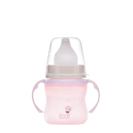 LOVI Training Cup 150 ml Retro Baby Pink
