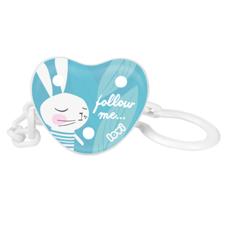 LOVI Soother Holder Follow the Rabbit