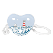 LOVI Soother Holder Marine